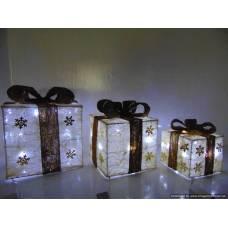 Dāvana LED gaismeklis 3 gab.