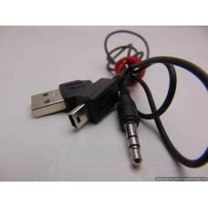 Mini USB to USB & AUX