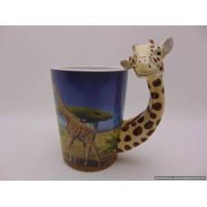 Keramikas krūze Žirafe