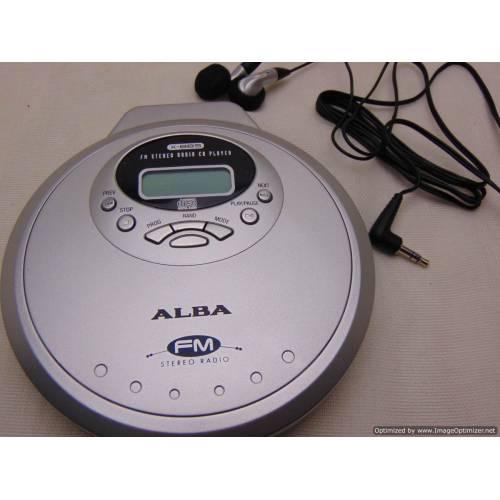CD atskaņotājs ALBA