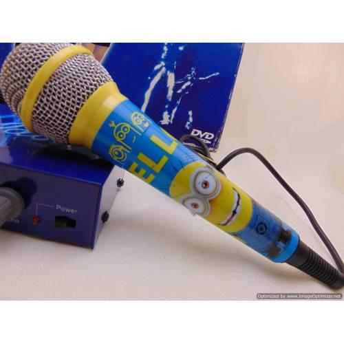 Karaoke audio mixer