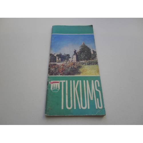 Buklets TUKUMS, 1969 gads