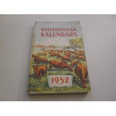 Kolchoznieka kalendārs 1952 g.