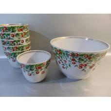 Porcelāna deserta komlekts