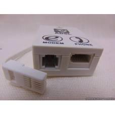ADSL modema sadalītāja adapteris