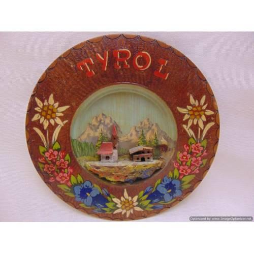 """Koka šķīvis """"Tyrol"""""""