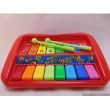 Metalofons un klavieres