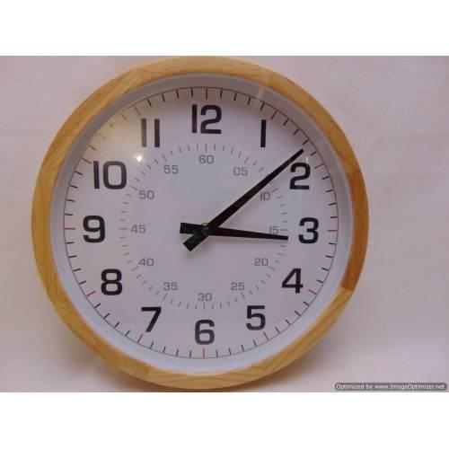 Koka sienas pulkstenis George home