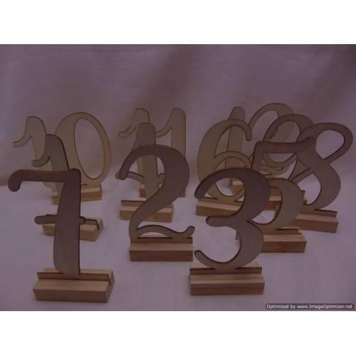 Koka galda numuri